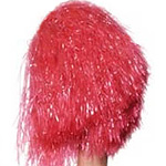 Red Extra Large Pom Pom Fancy Dress