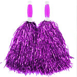 Pink Standard Tinsel Pom Pom's Fancy Dress