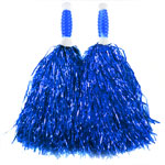 Blue Standard Tinsel Pom Pom's Fancy Dress