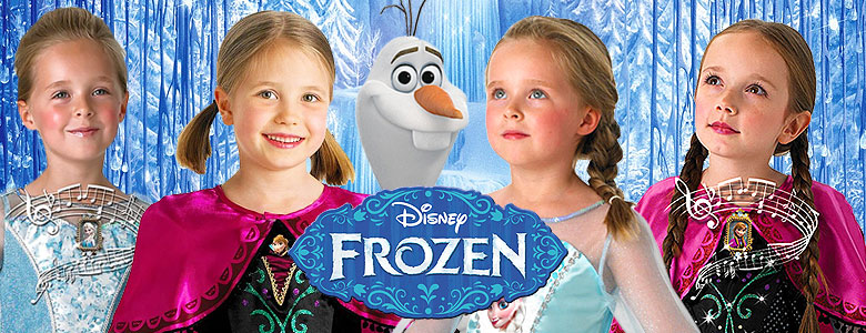 Frozen Fancy Dress Costumes  sc 1 st  Party Delights & Frozen Fancy Dress Costumes   Party Delights