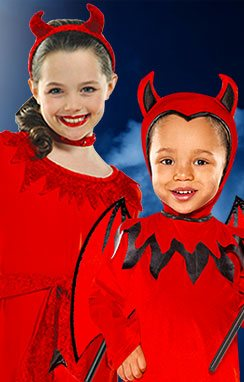 devils - Halloween Children Costumes