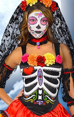 day of the dead - Halloween Cotsumes