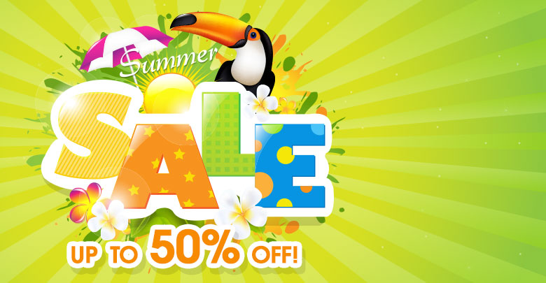 Summer Sale - Up to 50% OFF!