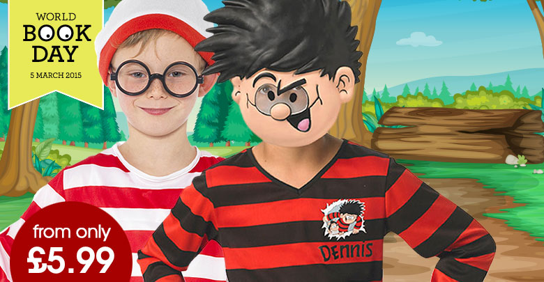 Boys World Book Day Costumes