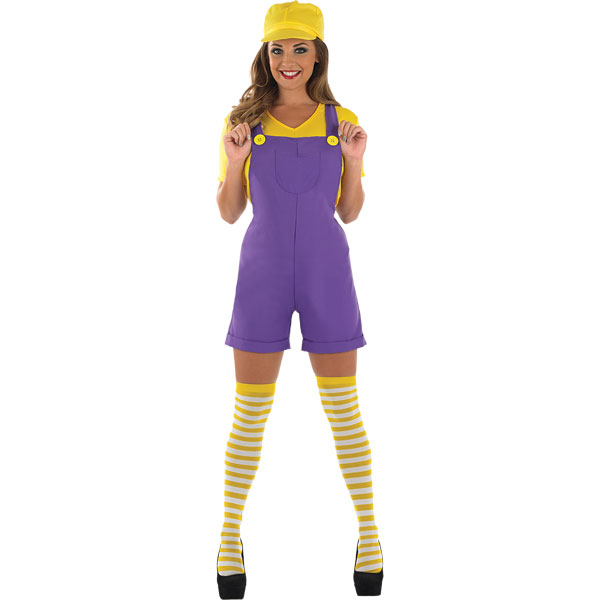 yellow plumbers mate adult costume party delights. Black Bedroom Furniture Sets. Home Design Ideas
