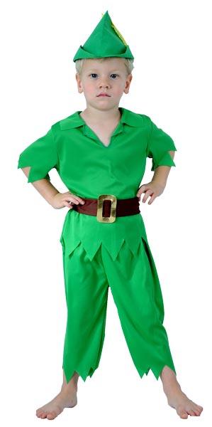 Карнавальный костюм питер пена своими руками