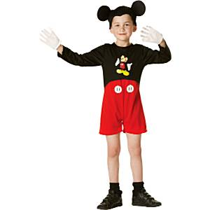 Fancy Dress - Boys Mickey Mouse Classic - Toddler