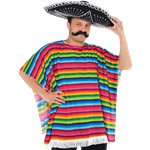"Mexican Serape - 36-44"" Chest"