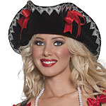 Pirate Hat - Wench Fancy Dress