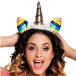 Unicorn Rainbow Headband