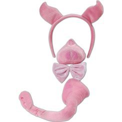 Fancy Dress - Childrens Child Pig Set with Sounds
