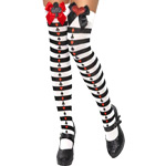 Thigh-high Deck of Cards Style Fancy Dress