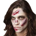Halloween Special Effects Makeup - FX Zombie Scars