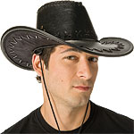 Deluxe Cowboy Leather Hat