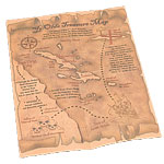 Pirate Treasure Map Fancy Dress