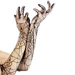 Spiderweb Long Lace Gloves