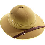 Safari Helmet - Light Khaki Fancy Dress