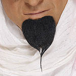 Arab Beard -Black Fancy Dress