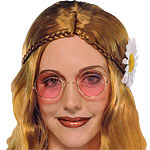 Fancy Dress Accessories Hippie Glasses