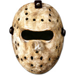 Halloween Hockey Mask - Cardboard