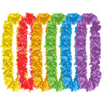 Multicoloured Value Hawaiian Lei Pack