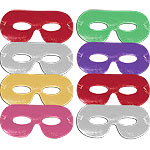 Card Eye Masks - Assorted Fancy Dress Masks