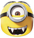 Minions Gone Batty Mask