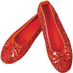 Dorothy Deluxe Shoes - Adult UK Size 8 Fancy Dress