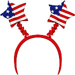 USA American Flag Boppers - 4th July