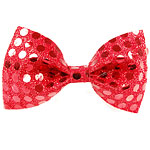 Bow Tie - Red Sequin Fancy Dress