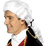 Court Gentleman Wig - White