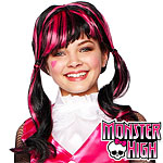 Monster High Draculaura Wig Fancy Dress