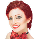 Rocky Horror Columbia Wig Fancy Dress