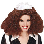 Rocky Horror Magenta Wig Fancy Dress