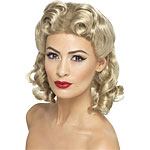 40's Sweetheart Wig - Blonde