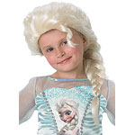 Child's Disney Frozen Elsa White Wig