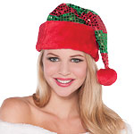 Plush Sparkle Elf Hat