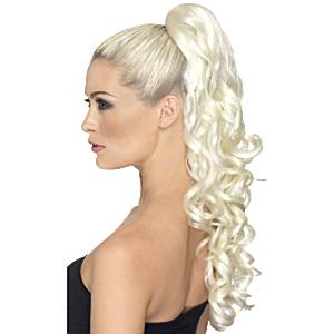 Curly Hair Extensions Blonde 81