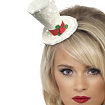 Fancy Dress Accessories Christmas Top Hat