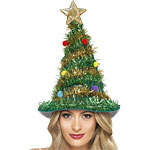 Fancy Dress Accessories Christmas Tree Hat