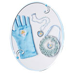 Cinderella Bag & Glove Set Fancy Dress