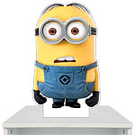 Despicable Me 2 Minion Dave Cardboard Cutout - 27cm