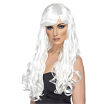Desire Wig - White Fancy Dress