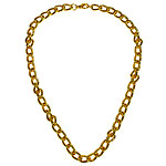 Chunky Gold Necklace Fancy Dress