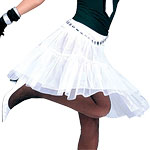 Petticoat Long White Fancy Dress