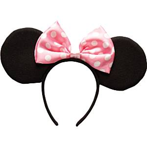 Fancy Dress Accessories Minnie Mouse Ears