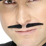 Spiv Moustache - Black