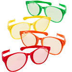Jumbo Glasses - Assorted Colours