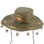 Australian Hat with corks Fancy Dress