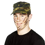 Army Peak Cap  Fancy Dress